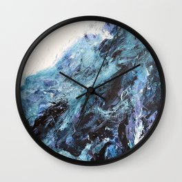 The First Wave Wall Clock