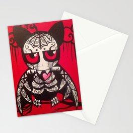 """Bat """"Murcielago""""  Stationery Cards"""