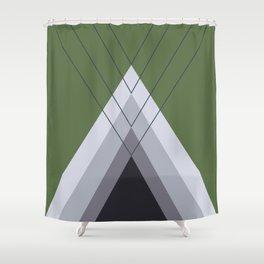Iglu Kale Shower Curtain