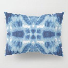 Tie Dye Blues Twos Pillow Sham