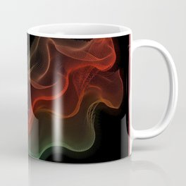 Almost Fluorescent Aurora String Theory #3  Coffee Mug