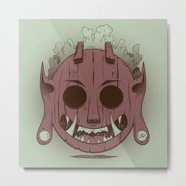 Wooden Djinn Metal Print