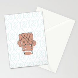 Pink Chair Stationery Cards