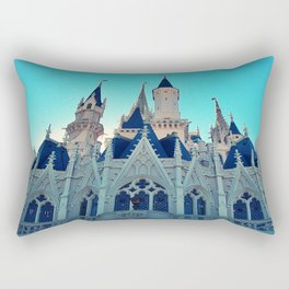 Castle Architecture Closeup 1 Rectangular Pillow