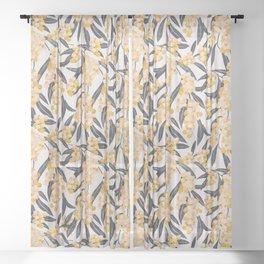 Mediterranean Acacia Sheer Curtain