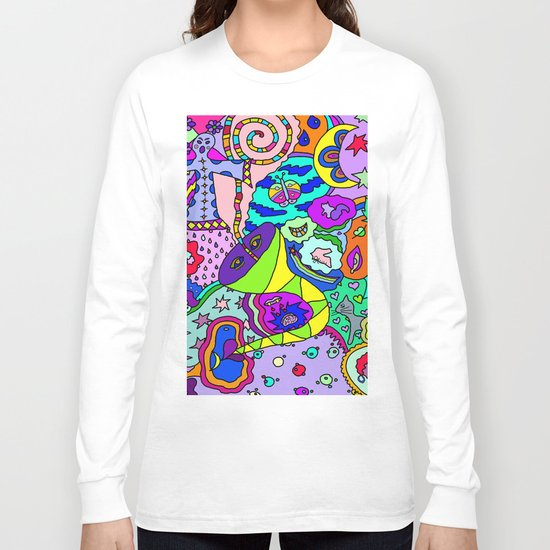 Abstract 13 Long Sleeve T-shirt