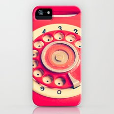 Trying to reach you iPhone SE Slim Case