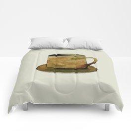 Mug on Plate Comforters