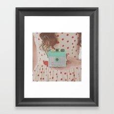 Shoot from the Heart Framed Art Print