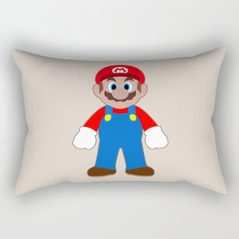 Sticker Mario Rectangular Pillow