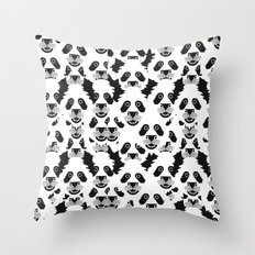 The Unlikely Orgy Throw Pillow