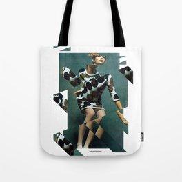 Collage Vintage Tote Bag
