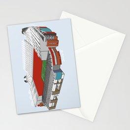 Old Trafford Football Stadium Stationery Cards