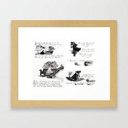 90's Sonnet Framed Art Print