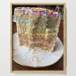 Over the Rainbow Pride Cake Serving Tray