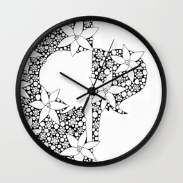 White Elephant Wall Clock