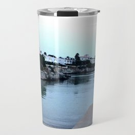 Hidden Beach in Ciutadella Travel Mug