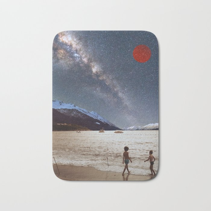 Red Planet Bath Mat