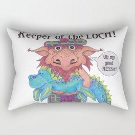 Keeper of the LOCH! Rectangular Pillow