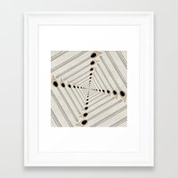 charmaine Framed Art Prints featuring Playing with Matches by eye in the sky