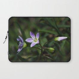 Spring Beauty Wildflowers Laptop Sleeve