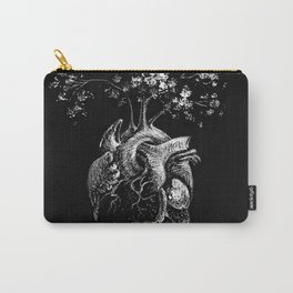 Peace of Heart - Anatomical Heart Illustration Carry-All Pouch