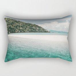 White beach and turquoise sea, Mu Ko Chang National Park in Thailand Rectangular Pillow