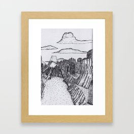 The Village of Iyk Framed Art Print