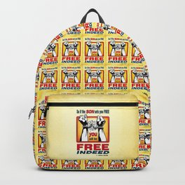 FREE INDEED! Backpack