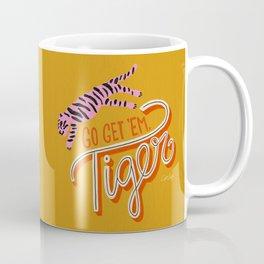 Go Get 'Em Tiger – Yellow Palette Coffee Mug