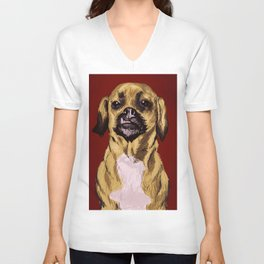 snaggle tooth Unisex V-Neck