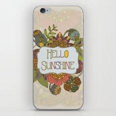 Hello Sunshine iPhone & iPod Skin