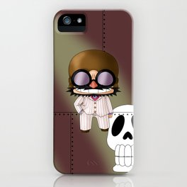 Chibi Mamma Aiuto iPhone Case