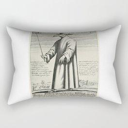 Plague Doctor Rectangular Pillow