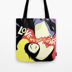 Love Vigilantes: Reversed Tote Bag