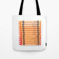 Color me ORANGE Tote Bag