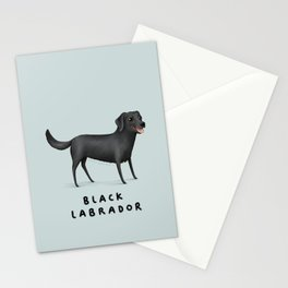 Black Labrador Stationery Cards