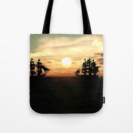 Seefahrt Begegnungen Tote Bag
