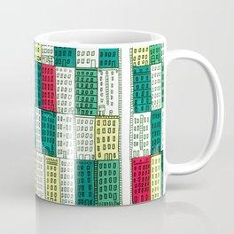 New York Streetscape (lucky green) Coffee Mug