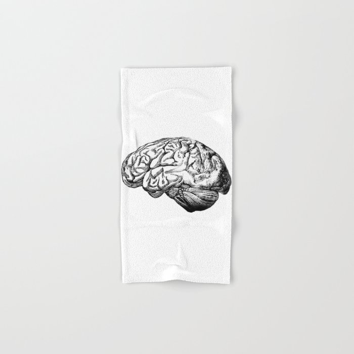 Brain Anatomy Hand & Bath Towel
