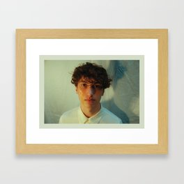 boy, your'e crying Framed Art Print