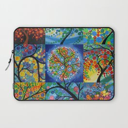 forest of dreams collages Laptop Sleeve