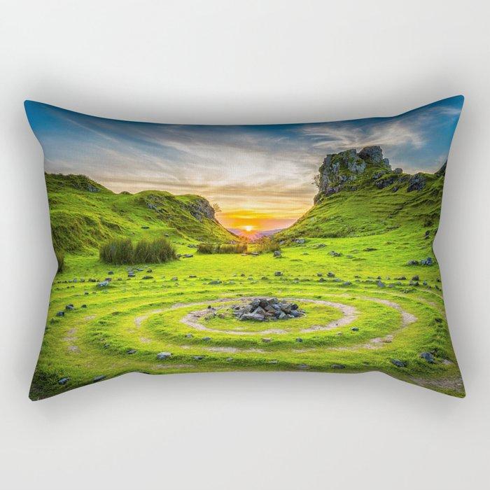 Enchanted Landscape Mood Rectangular Pillow