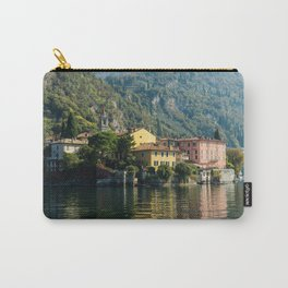 Italy Varenna Lake Como Houses Cities Building Carry-All Pouch
