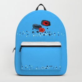 Coquelicot et souvenir bis Backpack