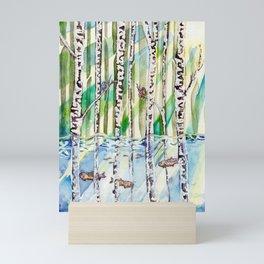 Flooded Forest Mini Art Print