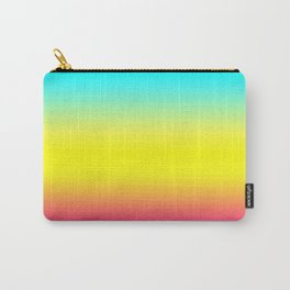 Ombre Magical Rainbow Unicorn Colors Carry-All Pouch