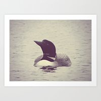 wildlife Art Prints featuring wildlife by Baley