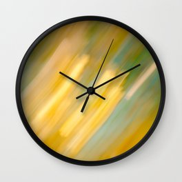 Ancient Gold and Turquoise Texture (variation) Wall Clock