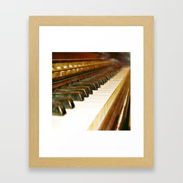 That Old Piano  Framed Art Print